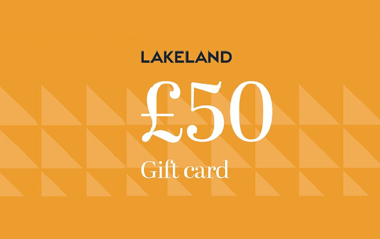 Win this £50 Lakeland giftcard