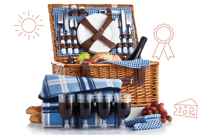 Win a picnic hamper from L&C